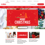 Coles Spend $X for 4 Weeks and Get 10,000 flybuys Points or $50 @ Coles (in Store & Online C&C or Delivery)