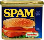 Spam Classic, Light or Less Salt Canned Ham 340g $3.30 (Was $5.50) @ Woolworths