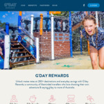 G'day Rewards 2 Year Membership 50% Discount ($25, down from $50)
