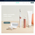 US$10 off on Purchase of US$50 or More @ Quip Oral Care