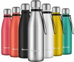 Newdora Insulated Water Bottle 500ml $10.99 + Delivery ($0 with Prime/ $39 Spend) @ Newdora Amazon AU