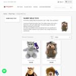 Nubby Animal Plush Toys - Buy 2 Get 1 Free $14.95 Delivered @ InternetStore Australia