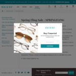US$10 off US$65+ Spend, US$20 off US$85+ Spend + Delivery @ Zenni Optical