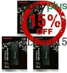[eBay Plus] Toshiba X10 Pro Portable SSD 2TB $267.75 Delivered @ Shopping Express eBay