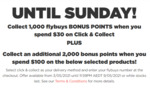 Bonus flybuys Points: 1000 with $30 C&C, Extra 2000 with $100 Spend on Selected Wines, Spirits & Pre-Mixes @ Liquorland