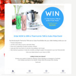 Win a Thermomix TM6 & Subo Smart Saver Bundle Worth $2,339 from Subo Products Australia