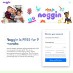 Free 9 Months Subscription - Educational Kids Games & Streaming (Normally US$7.99/Month), VPN Required @ Noggin