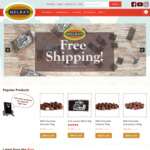 Free Shipping on Orders over $40 @ Melba's Chocolate