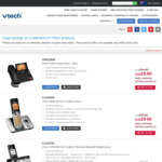 Vtech 15750 DECT6.0 Cordless Phone with Bluetooth MobileConnect A$23 Delivered @ Vtech