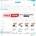 10% off on All Bike Trainers & Free Delivery on Smart Trainers @ Pushys