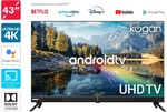 Kogan 43'' Smart HDR 4K LED TV Android TV $459 + $31.99 Shipping @ Kogan