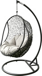 Wicker Weave Hanging Egg Chair - $519.20 (White or Charcoal Black) + Delivery (Free to VIC, SYD, ACT & QLD) @ The Hanging Egg