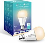 TP-Link Kasa Smart Bulb Warm White B22 $14 + Delivery ($0 with Prime/ $39 Spend) @ Amazon AU
