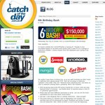 CatchOfTheDay Birthday Bash, $150,000 Worth of Freebies with 1 Cent Shipping!