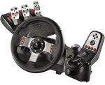 Logitech G27 Steering Wheel Only $209 at DSE