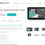 "Bauhn 1.2GHz 10.1"" Quad Core 3G & Wi-Fi Tablet - $249 at ALDI from 5 June"