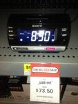 Sony iPhone 5 Clock Radio, $73.50 at Big W. RRP $99