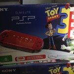 PSP 3000 Red Toy Story 3 Bundle WAS $168 NOW $120 - BIG W Eastland