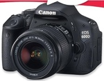 Canon 600D Single Lens for $494 at Big W, Save $180