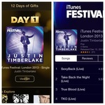 Days 1 of Gifts by iTunes: Justin Timberlake iTunes Festival Single 2 Songs & 2 Videos