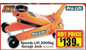 Repco Pro Lift Speedy Lift 2000kg Garage Jack 139 Ozbargain