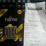 Fujitsu 4x AAA Batteries Reject Shop Tarneit Gardens VIC $0.50