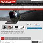ThinkPad Edge E431 Laptop Core i5-3230M Processor (3.20GHz), 4GB RAM, 500GB 7200 RPM HDD $616.5