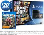 PS4 GTA V Bundle + Far Cry 4 + $20 COTD Voucher $479 @ COTD