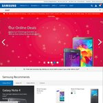 Samsung Online Store 15% off Everything 48 Hours Only - Phones, Tablets, Wearables, etc