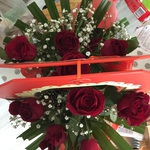 10 Red Roses in Box ($38) @Woolworths