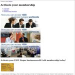 FREE Two-Year Regus Businessworld Gold Membership ($700 Value) - Business Lounges Worldwide