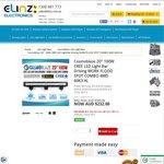"Cosmoblaze LED 20"" 100W IP69 Cree Light Bar $232 @ Elinz"