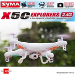 Syma X5C 2.4g 4CH RC Quadcopter Drone with 2MP Camera $49.95 Shipped (from SYD) @ Shopping Square