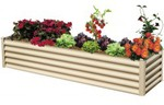 Hexies Raised Garden Bed in beige 200x55x40cm $99 Click and Collect @ Mitre 10
