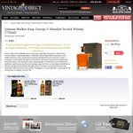 Johnnie Walker King George V - $399 - Nicks Wine Merchants (Free Delivery)
