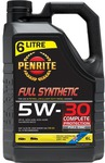 Penrite Everyday Full Synthetic - 5W-30, 6 Litre $39.99 @ Supercheap