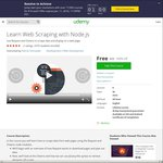 Free: Learn Web Scraping with Node.js @ Udemy