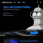 25% off All Dbrand Skins