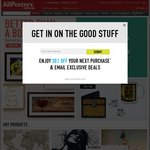 1 Day Sale: 45% Full Price Items @ AllPosters.com.au