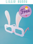 FREE Printable DIY Easter Party Glasses (Normally $1.90) from Printagrafy
