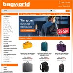 $10 Coupon Code When You Spend $99.95+ at Bagworld.com.au