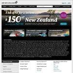 $150 off Return Air New Zealand Flights to NZ