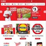 Coles 13/7: Voss Water 375mL $2, Pringles $2, Baileys Ice Cream 500mL $3.75, Bulla Frozen Yoghurt 1L $3.75, 20% off iTunes