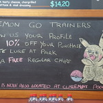 10% off Bilby's Burgers (Claremont, WA) with Pokemon Account and FREE Reg Chips When You Activate a Lure