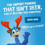 During Xmas 12 Days of Parking for $105 @ SYD Airport