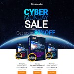 Bitdefender CyberDeal up to 80% off Plus ($13.99 3 Devices), Multi ($21.98 5 Devices) & Internet Security ($18.98 3 Devices)