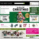 Free Delivery On All Orders Until Midnight 19th December @ The Body Shop Online