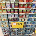 Valledoria Baked Bean & Spaghetti Varieties 420g $0.50 @ Coles (Made in Italy)