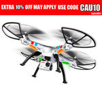 SYMA X8G 2.4GHz 4CH RC Quadcopter with 8MP HD Camera $143.20 @ Superhobbystore eBay