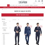 4 Shirts for $120, Suits from $299 @ TM Lewin